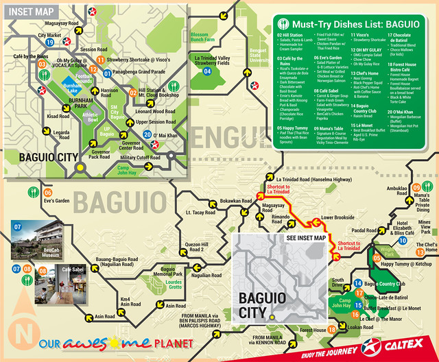 Baguio Map Pdf