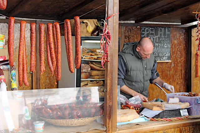 Sausage in Cluj