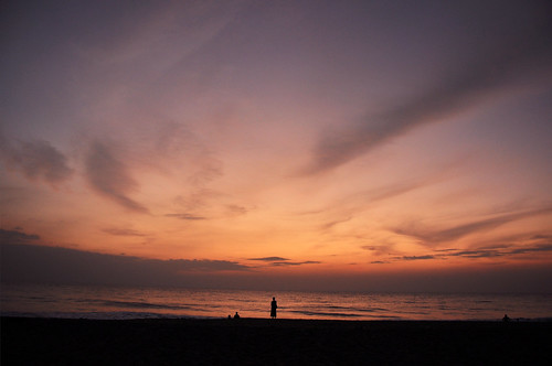 Sunset at Kalido Beach - Kalutara by D-Sign Works
