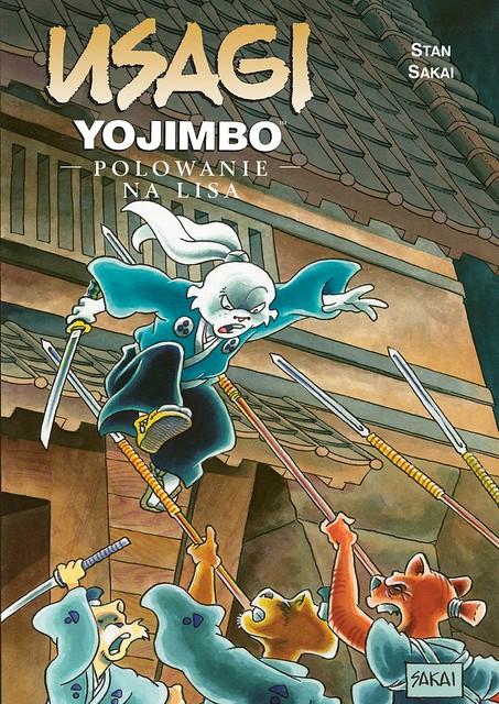 Usagi Yojimbo 25: Polowanie na lisa