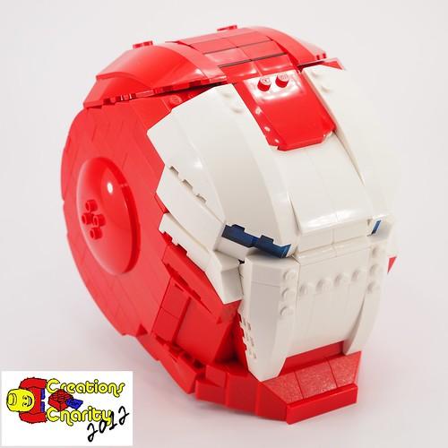 Iron Santa Helmet