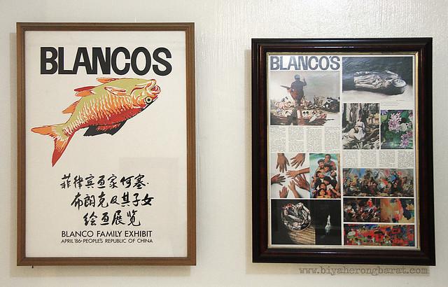 Blanco Family Exhibit in China in April 1986