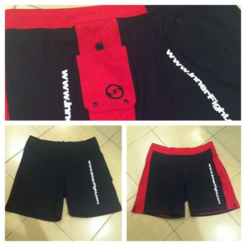 New InnerFight shorts now in stock. #getinvolved #shorts #apparel #innerfight #workout #crosstraining #theyrock #winning