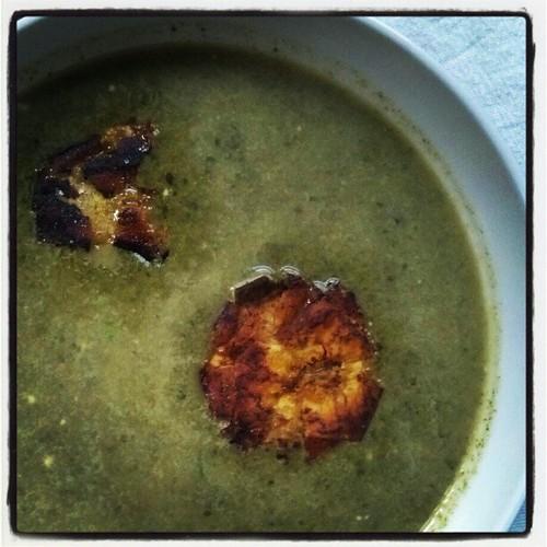 soup & tostones