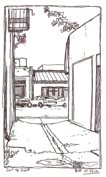 2nd st alley
