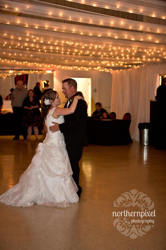 Hart Community Center Wedding Reception First Dance