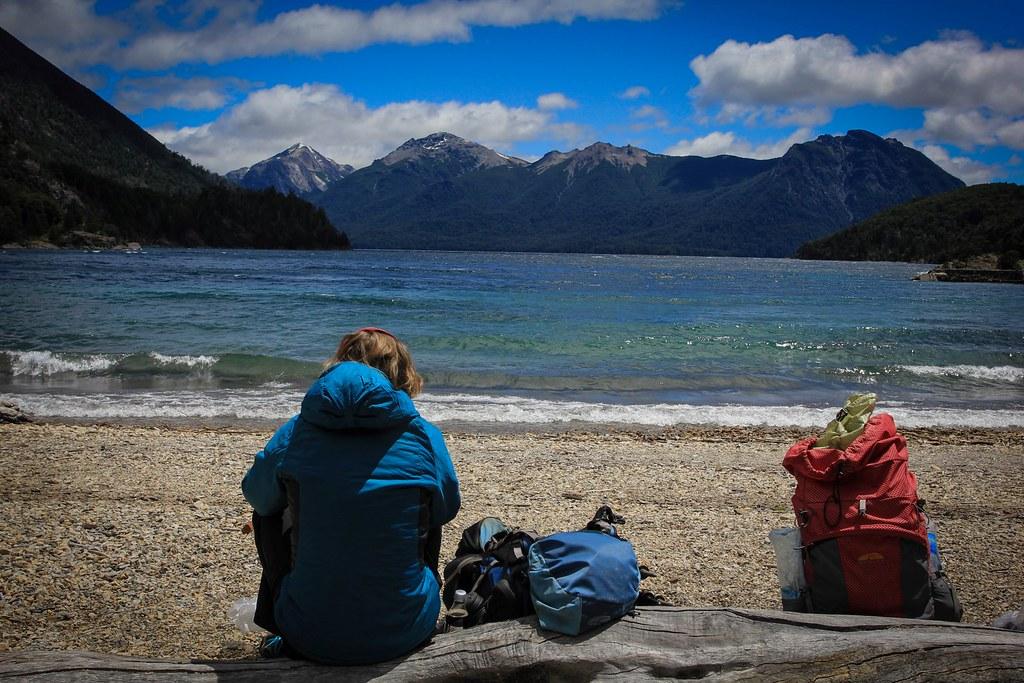 Bahia Lopez beach - Lago Nahuel Huapi - Patagonia, Argentina