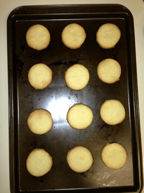 Making shortbread cookies - cookies baked