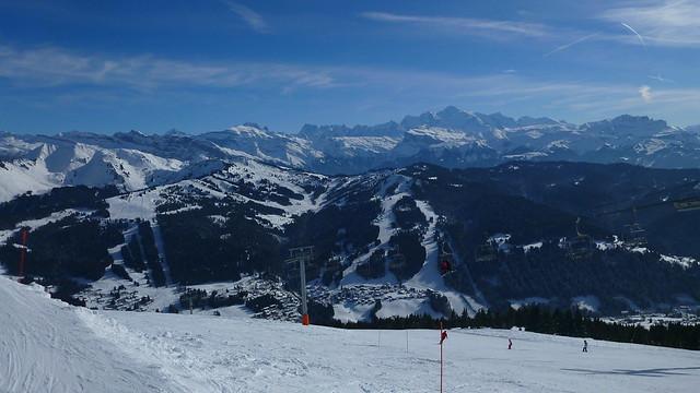 Les Gets, Mont Chery, Mont Blanc, Portes du Soleil