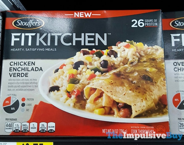 Stouffer's Fit Kitchen Chicken Enchilada Verde