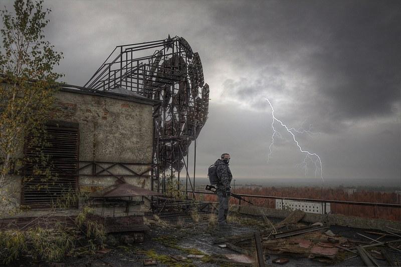 The Pripyat overlooker.....