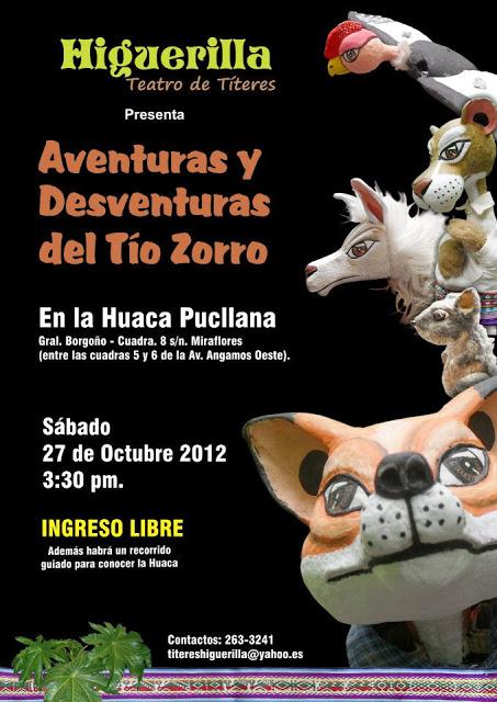 Afiche Huaca Pucllana