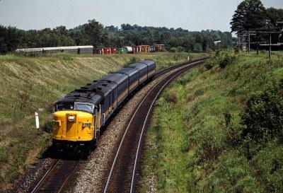 CP/VIA Newtonville, Ontario, 1985
