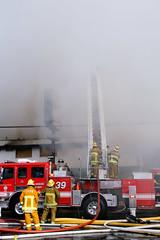 Major Emergency Structure Fire - Van Nuys