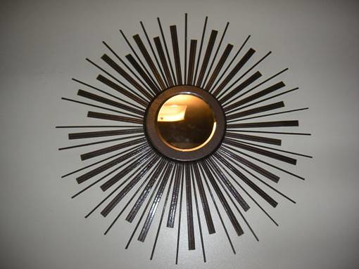 Decorating With DIY Sunburst Mirrors | lasesana