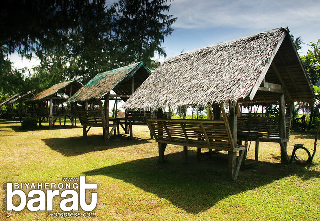 huts at the park real quezon tignoan