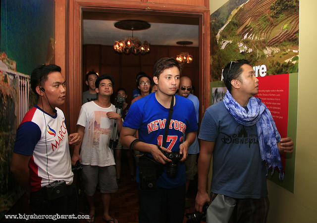 Guided tour in Malacanang of the North