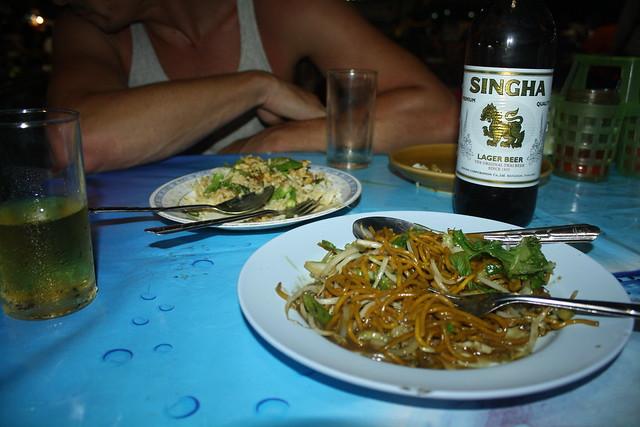 Night Market Sulat Thani Before the Night Boat to Koh Tao