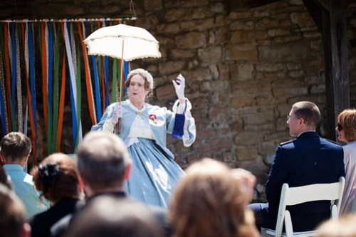 Mary Todd Lincoln, our surprise guest