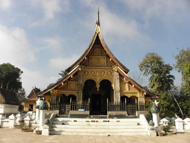 A temple in Luang Prabang, Northern Laos