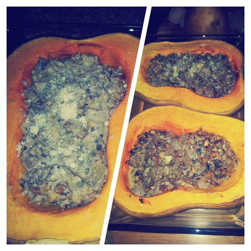 Nut-Stuffed Butternut Squash