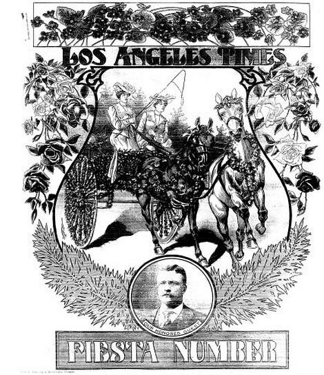 King Edward Hotel May 9 1903 LAT page 45 Roosevelt at Fiesta screen grab