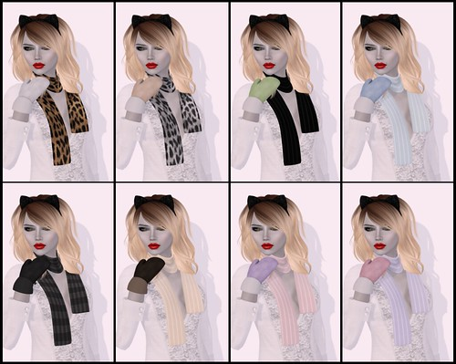 Winter @ Pixel Mode - Mittens & Scarves
