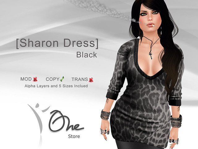 [Sharon Dress] Black