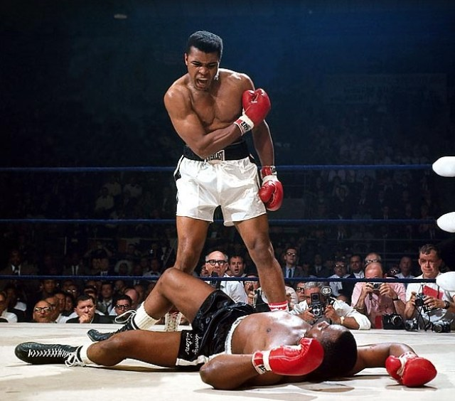 mejores fotografias de sports illustrated, muhammad ali -box