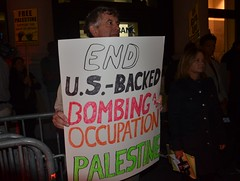 End US backed bombing & occupation of Palestine