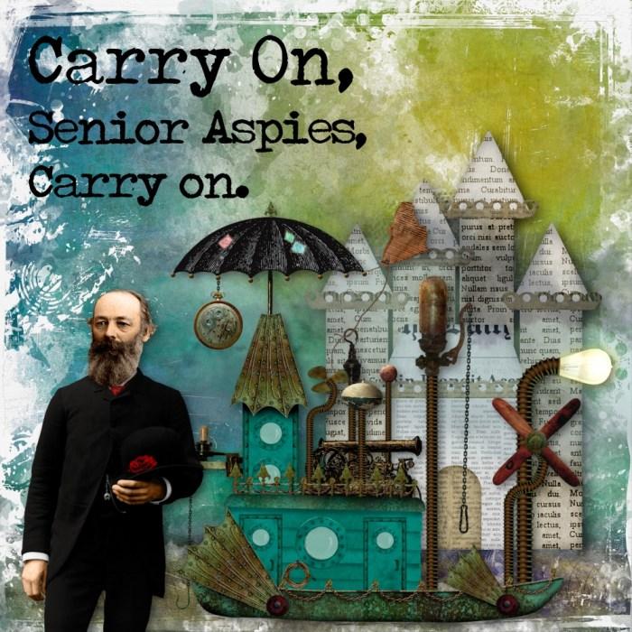 Carry on, Senior Aspies
