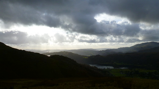 Grasmere with tiny Alcock Tarn