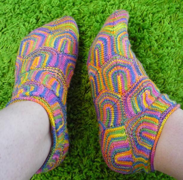 Ziprelaxagon socks