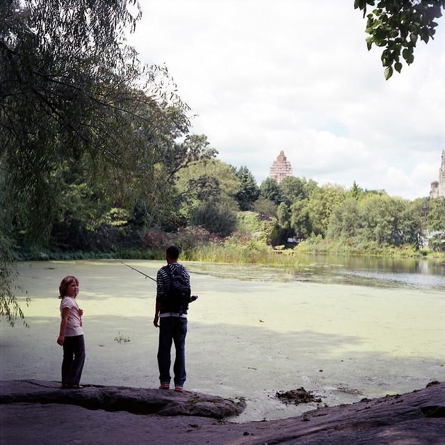 fishing at the Park