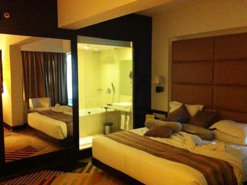 很大很舒適的房間