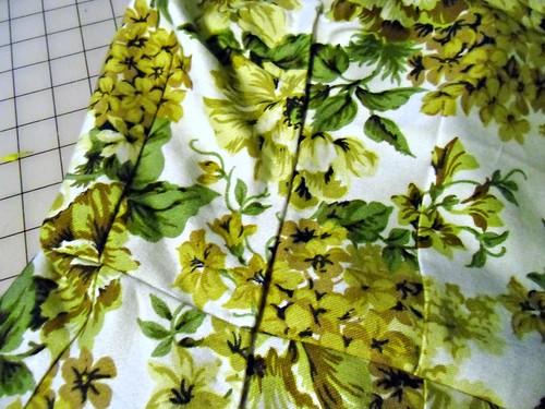 Vintage Floral Sheath