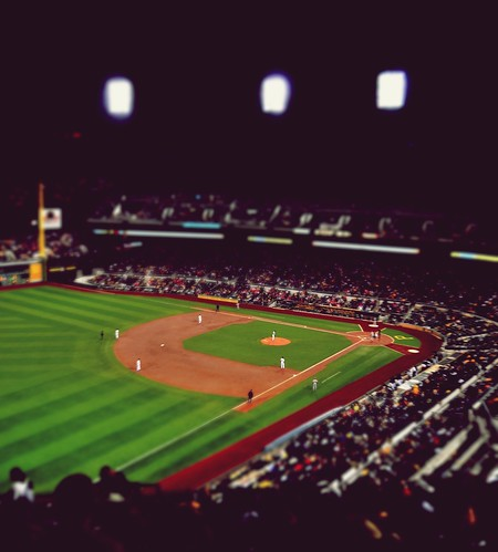 Baseball Tilt Shift by dogfrog