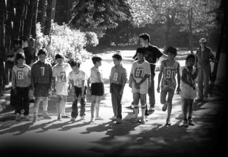 Juan Luis Barrios comparte sus primeras carreras de la infancia