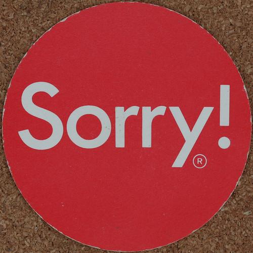 Sorry! -