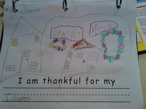I am thankful for my jooaree