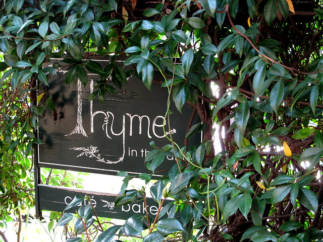 thyme sign