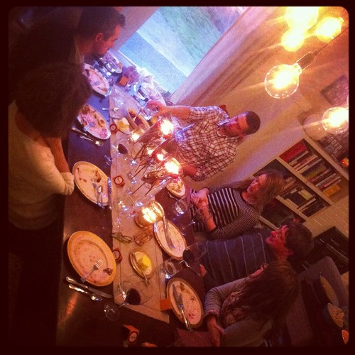 thanksgiving table by telfandrea
