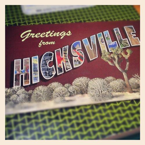 Hicksville Postcard