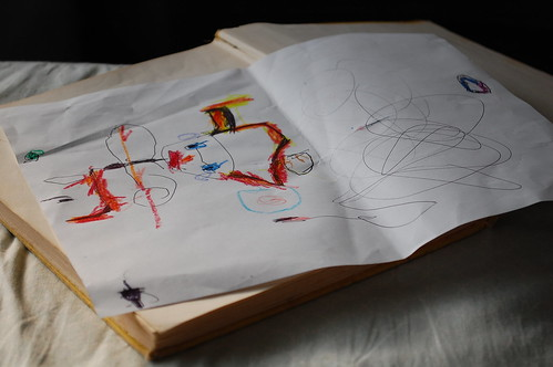 Milla's drawings.