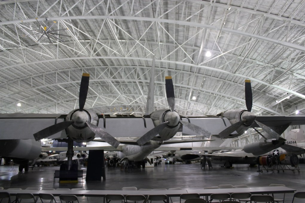 B-36 wing Strategic Air Command Museum