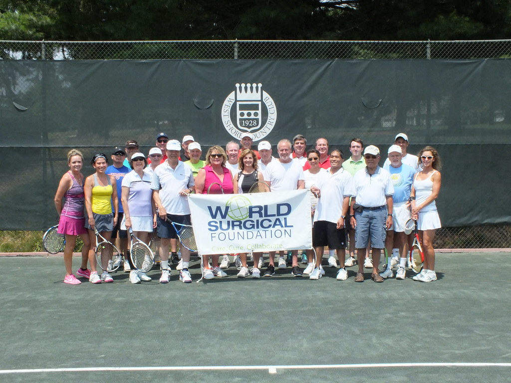 2016 Landmark Commercial Realty Tennis FUNdraiser & BBQ