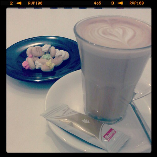 Latte @ The Coffee Daily