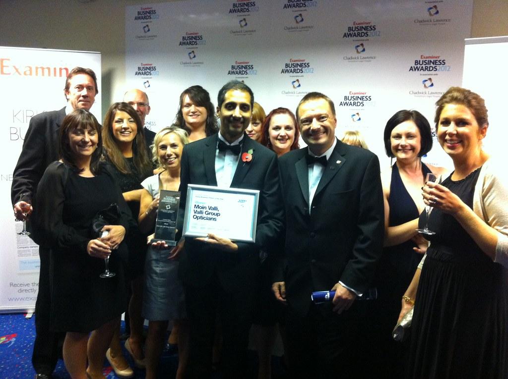 Huddersfield Business Awards - Moin Valli