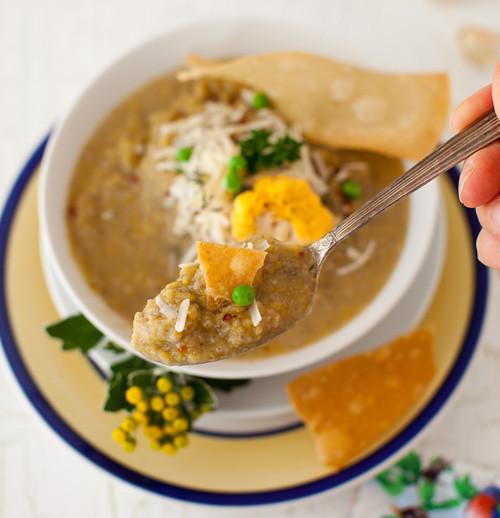 Leek Mushrooms Soup 3