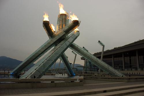 Olympic Vancouver Cauldron